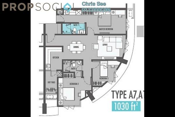 For Sale Condominium at Tiara Mutiara 2, Old Klang Road Freehold Fully Furnished 3R/2B 860k