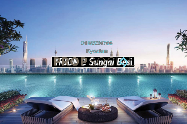 For Sale Serviced Residence at Trion @ KL, Kuala Lumpur Freehold Semi Furnished 2R/1B 550k