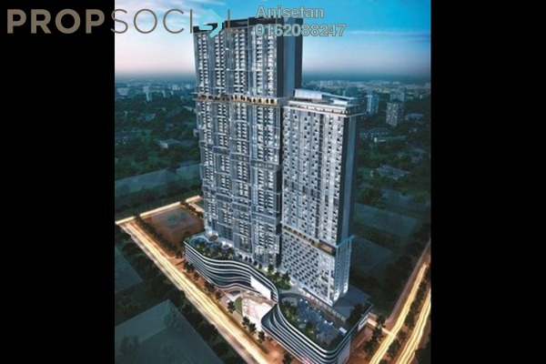 For Sale Condominium at Trion @ KL, Kuala Lumpur Freehold Semi Furnished 2R/1B 550k