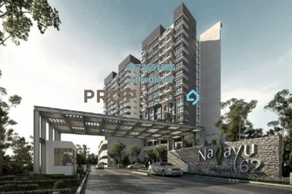 For Rent Condominium at Nadayu62, Melawati Freehold Semi Furnished 3R/2B 2k