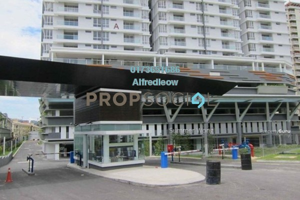 For Rent Condominium at Platinum Hill PV2, Setapak Freehold Fully Furnished 4R/2B 2.2k