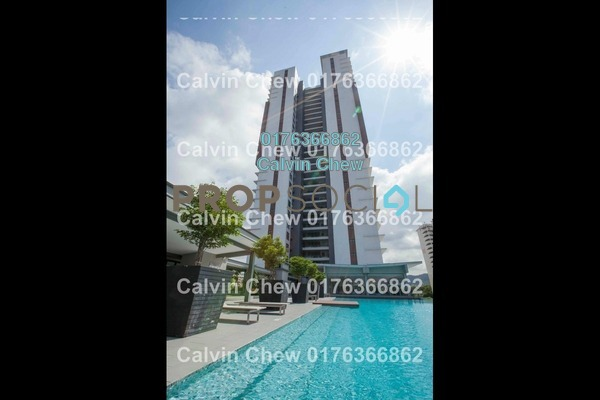 For Sale Serviced Residence at Glomac Centro, Bandar Utama Freehold Unfurnished 4R/3B 664k