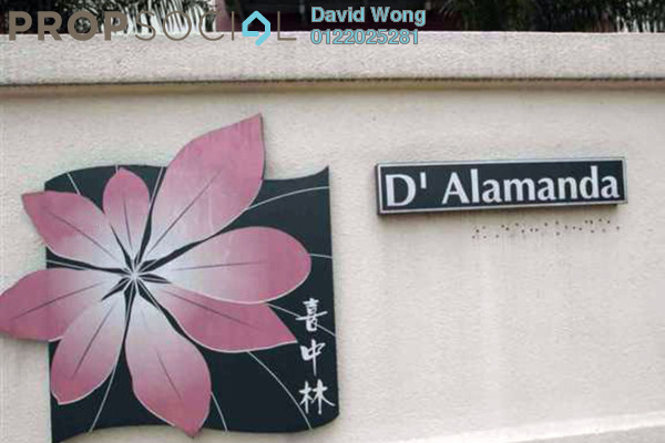 For Rent Condominium at D'Alamanda, Cheras Freehold Fully Furnished 4R/3B 2k