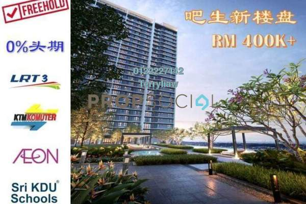 For Sale Condominium at Taman Berkeley, Klang Freehold Unfurnished 2R/2B 380k
