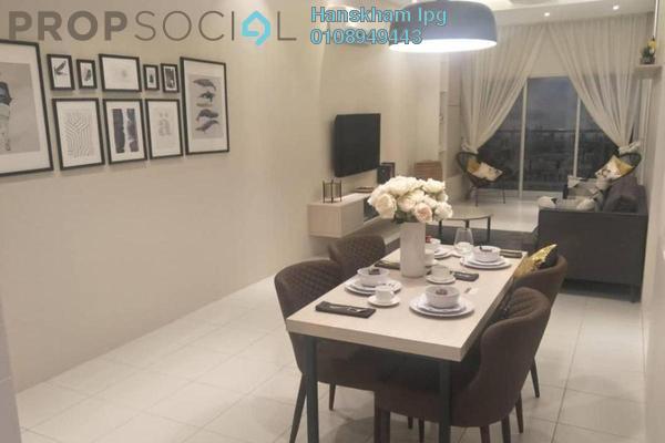 For Sale Condominium at Residensi Platinum Teratai, Kuala Lumpur Freehold Semi Furnished 3R/2B 415k