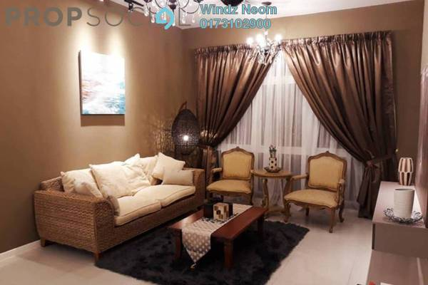 For Rent Condominium at EcoSky, Jalan Ipoh Freehold Fully Furnished 2R/2B 2.3k