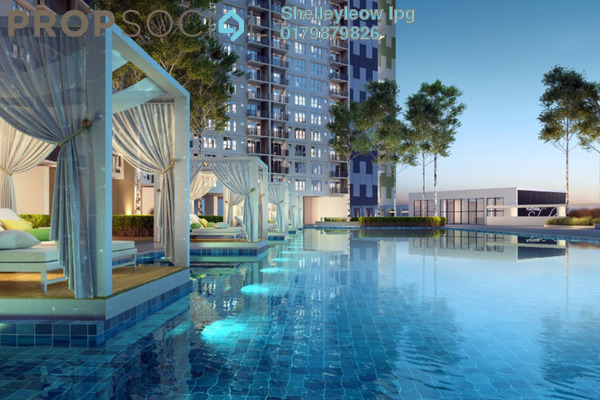 For Sale Condominium at Platinum Splendor Residence, Kuala Lumpur Freehold Unfurnished 4R/2B 469k