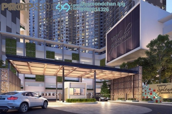 For Sale Condominium at Platinum Splendor Residence, Kuala Lumpur Freehold Unfurnished 4R/2B 501k