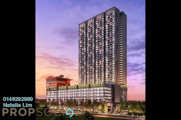 For Sale Condominium at The Hamstead, Bandar Tun Razak Freehold Unfurnished 3R/2B 390k