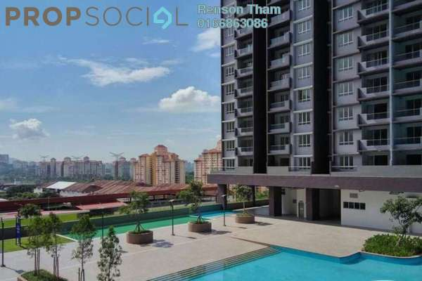 For Sale Condominium at PV18 Residence, Setapak Freehold Unfurnished 3R/3B 435k