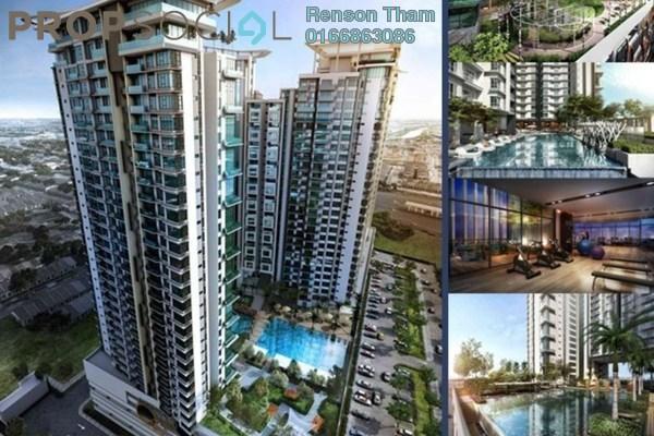 For Sale Condominium at Kenwingston Avenue, Sungai Besi Freehold Semi Furnished 2R/2B 370k