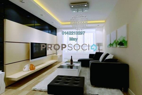 For Rent Condominium at Idaman Sutera, Setapak Freehold Unfurnished 3R/2B 1.1k