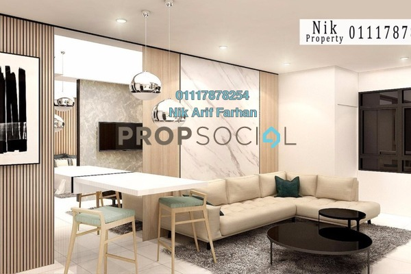 For Sale Condominium at Horizon Suites Site, Dengkil Freehold Fully Furnished 2R/2B 239k