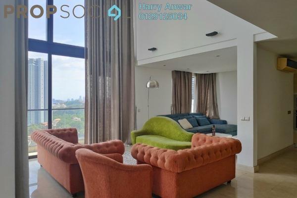 For Sale Duplex at Lumina Kiara, Mont Kiara Freehold Semi Furnished 4R/5B 1.9m