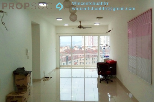 For Rent Condominium at Setapak Green, Setapak Freehold Semi Furnished 4R/3B 2k