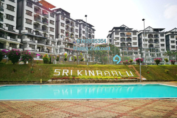 For Sale Condominium at Sri Kinabalu, Wangsa Maju Freehold Unfurnished 4R/2B 430k