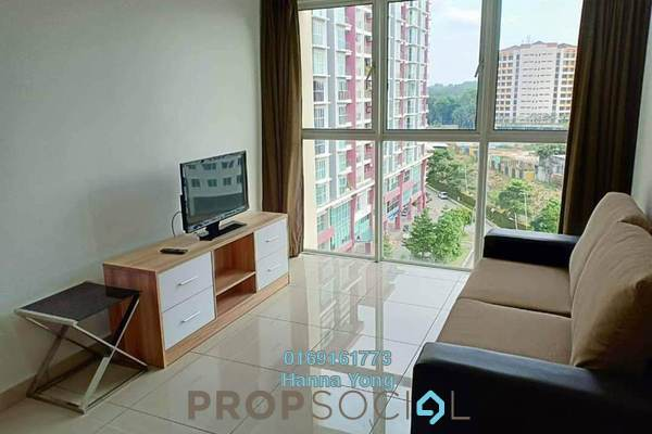 For Rent Serviced Residence at Pacific Place, Ara Damansara Freehold Fully Furnished 3R/2B 2.2k