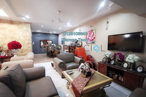 For Sale Superlink at Section 7, Shah Alam Freehold Semi Furnished 4R/3B 799k