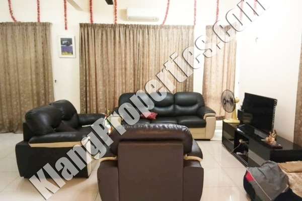For Rent Semi-Detached at Bandar Parklands, Klang Freehold Fully Furnished 4R/4B 2.3k