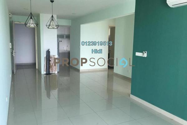 For Rent Serviced Residence at De Centrum Residences, Kajang Freehold Semi Furnished 3R/2B 2.1k