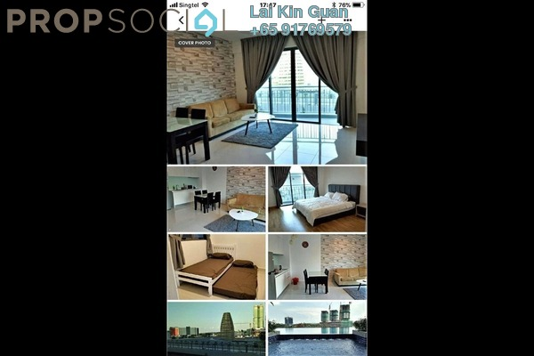 For Rent Condominium at Teega, Puteri Harbour Freehold Fully Furnished 2R/2B 2k