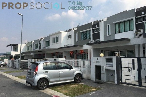 For Sale Terrace at Lakeside Residences, Puchong Freehold Unfurnished 4R/3B 1m