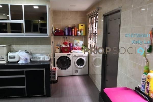For Sale Terrace at Laman Rimbunan, Kepong Freehold Semi Furnished 6R/4B 1.3m