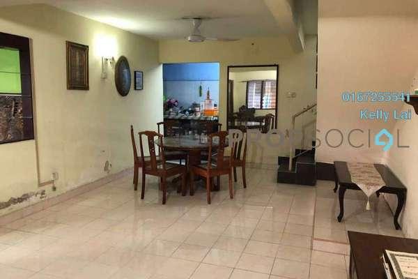 For Sale Terrace at Taman Sri Sinar, Segambut Freehold Semi Furnished 3R/2B 585k