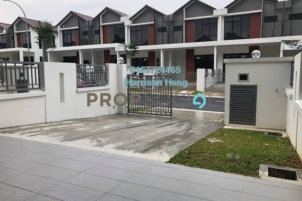 For Rent Terrace at Taman Bukit Indah, Bukit Indah Freehold Semi Furnished 4R/3B 1.8k