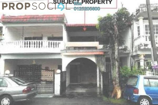 For Sale Terrace at Taman Nirwana, Ampang Freehold Unfurnished 0R/0B 550k