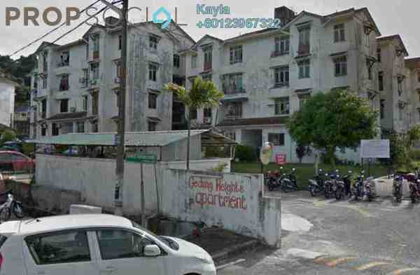 For Sale Apartment at Gedung Heights Apartment, Bayan Baru Leasehold Unfurnished 0R/0B 260k