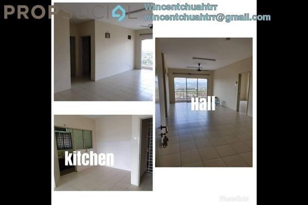 For Rent Condominium at Platinum Lake PV12, Setapak Freehold Semi Furnished 4R/2B 1.5k