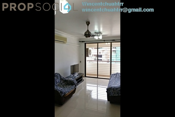 For Rent Condominium at Putra Villa, Gombak Freehold Fully Furnished 3R/2B 1.8k
