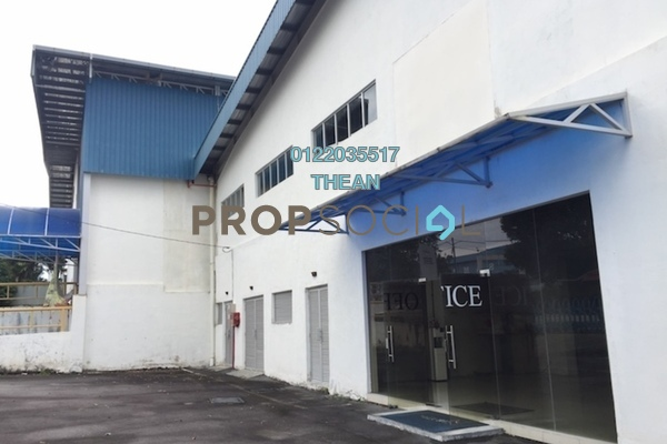 For Sale Factory at Tuanku Jaafar Industrial Park, Senawang Freehold Unfurnished 0R/2B 11.5m