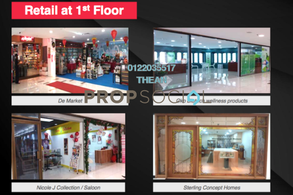 For Rent Shop at Faber Tower, Taman Desa Freehold Semi Furnished 0R/0B 4.2k