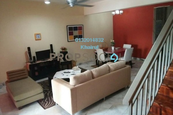 For Sale Terrace at Berjaya Park, Shah Alam Freehold Semi Furnished 4R/3B 460k