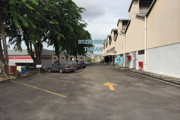 For Rent Factory at Section 15, Shah Alam Freehold Semi Furnished 0R/0B 130k