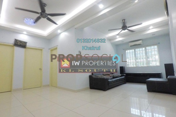 For Sale Apartment at Taman Cheras Intan, Batu 9 Cheras Freehold Semi Furnished 3R/2B 320k