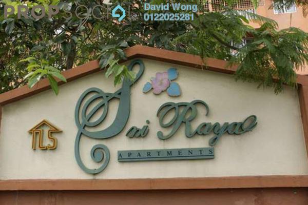 For Rent Apartment at Sri Raya Apartment, Kajang Freehold Semi Furnished 3R/2B 950translationmissing:en.pricing.unit
