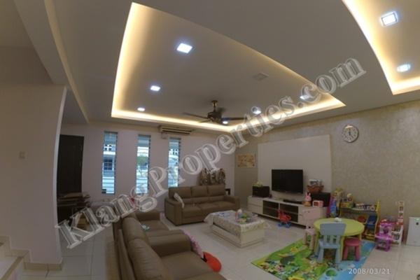 For Sale Superlink at Bandar Parklands, Klang Freehold Fully Furnished 4R/4B 868k