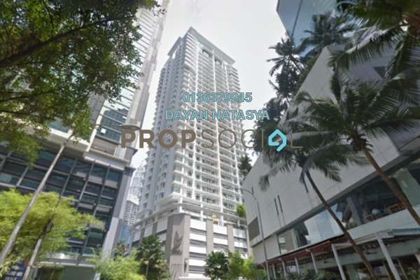 For Sale Serviced Residence at Binjai Residency, KLCC Freehold Semi Furnished 5R/5B 2.32m