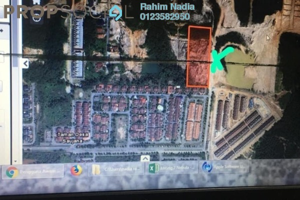 For Sale Land at Taman Desa Saujana, Kajang Freehold Unfurnished 0R/0B 669k