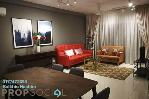 For Rent Serviced Residence at Emira, Shah Alam Freehold Fully Furnished 3R/2B 3.3k