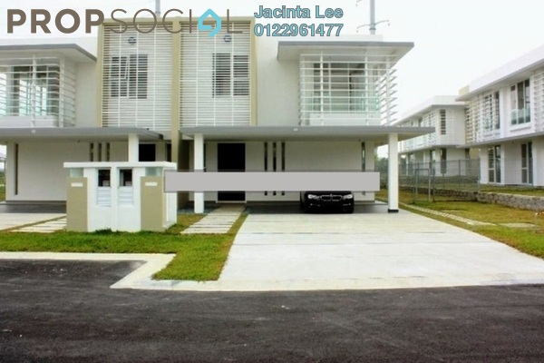 For Sale Semi-Detached at East Ledang, Iskandar Puteri (Nusajaya) Freehold Semi Furnished 5R/5B 1.8m