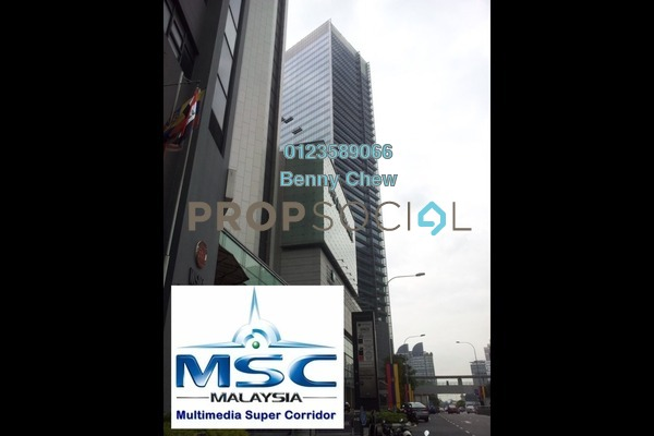 For Rent Office at Vista Tower, KLCC Freehold Semi Furnished 0R/0B 16.3k
