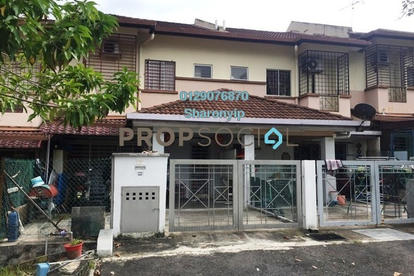 For Sale Terrace at Section 1, Bandar Mahkota Cheras Freehold Semi Furnished 4R/3B 488k