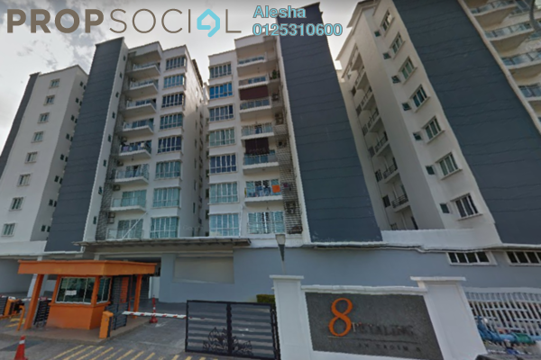 For Rent Condominium at 8 Petaling, Sri Petaling Freehold Fully Furnished 4R/5B 3k
