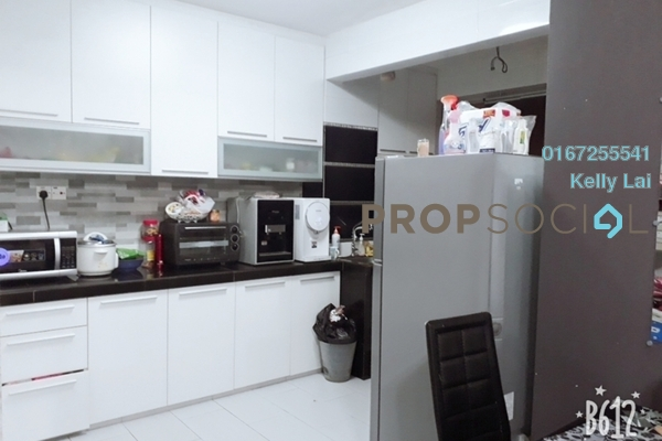 For Sale Condominium at Paradesa Rustica, Bandar Sri Damansara Freehold Semi Furnished 3R/2B 380k
