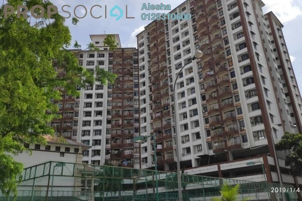 For Sale Condominium at Sri Pelangi, Setapak Freehold Unfurnished 0R/0B 300k