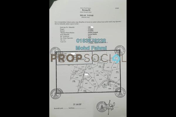 For Sale Land at Taman Changkat Desa, Gombak Freehold Semi Furnished 8R/8B 600k